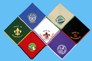 Custom made embroidered patches - Scarves/Neckerchiefs