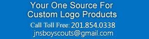 YOUR ONE SOURCE for Custom Logo Products!  Custom embroidered patches