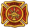 Custom embroidered patches, FIRE DEPARTMENT PATCHES